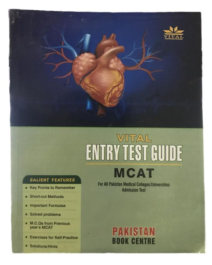Vital Entry Test Guide MCAT - New Edition 2017-18