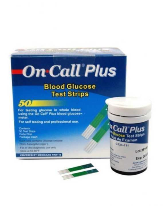 Blood Glucose Test Plus - 50 Strips