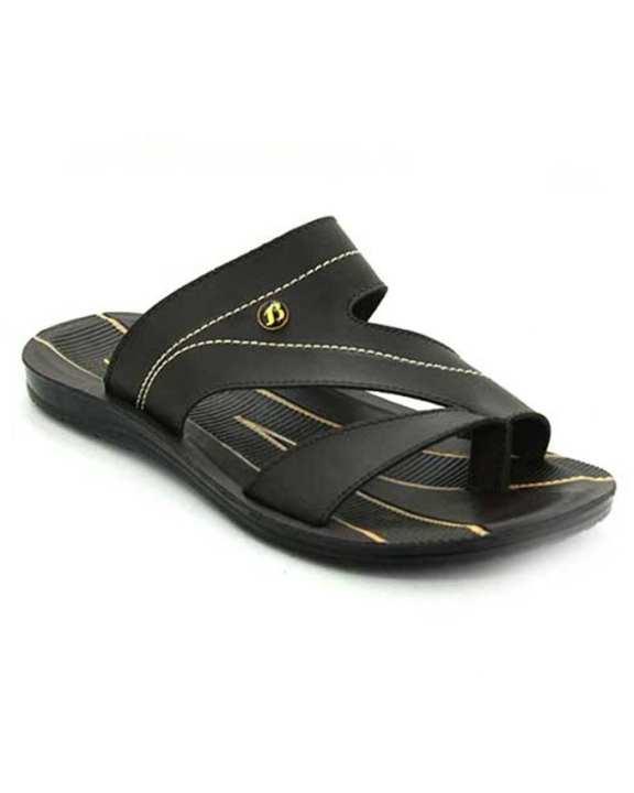 Weinbrenner Summer Brown PU Synthetic Sandals For Men