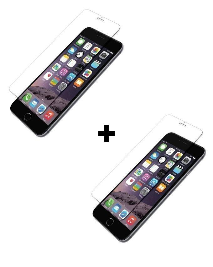 Pack of 2 - Tempered Glass Protector for Apple iPhone 6 & 6S - Clear