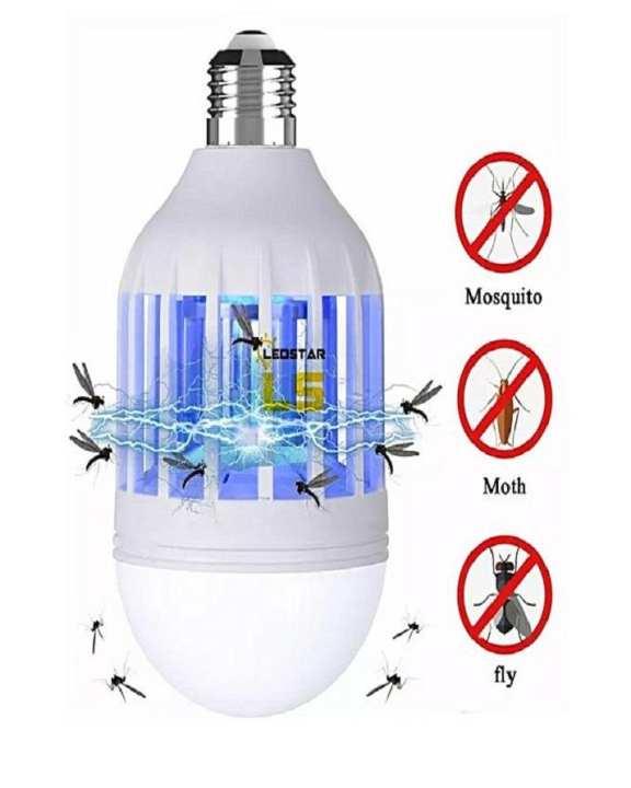 15W LED Mosquito Killer Bulbs Lamp Light Eco Mosquito Killer Household