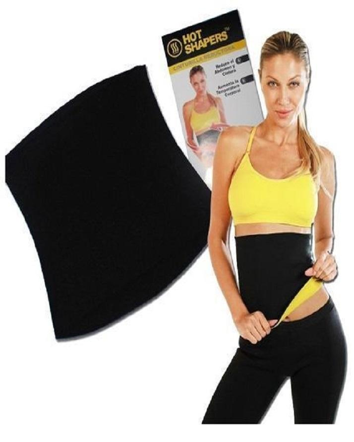 f1d44e9824 Hot Slimming Belt - Black   Yellow