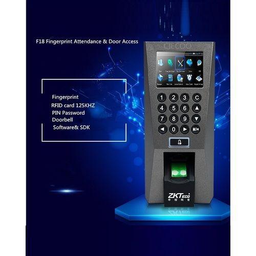 F18 Biometric Fingerprint & Attendance Machine