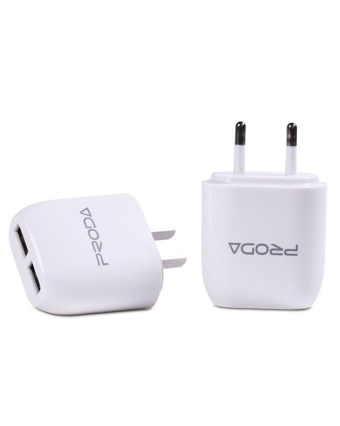 RP U21 - USB Charger - 2.1A 2 Port - White