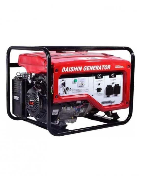 DaiShin HONDA powered Petrol Generator 5.5 KW - 100% Made In Japan - SGB7001HSa