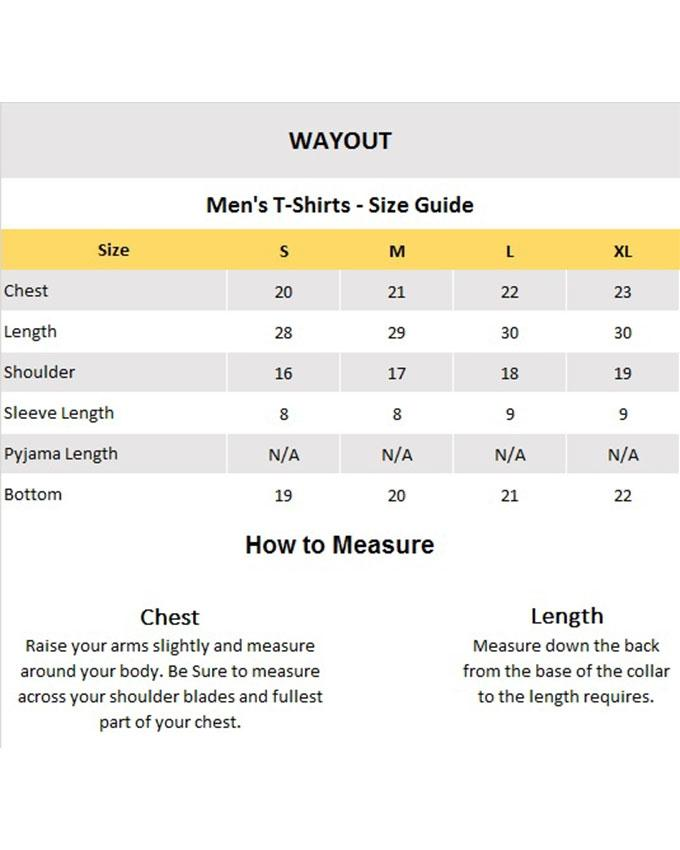 Yellow Cotton Hope Not Out Sonder T-Shirt For Men