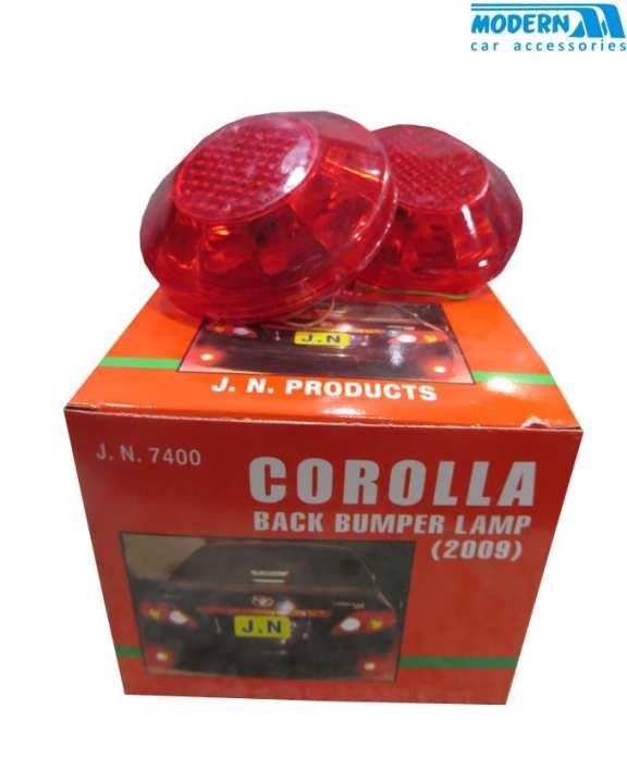 corolla 2009 back bumper light