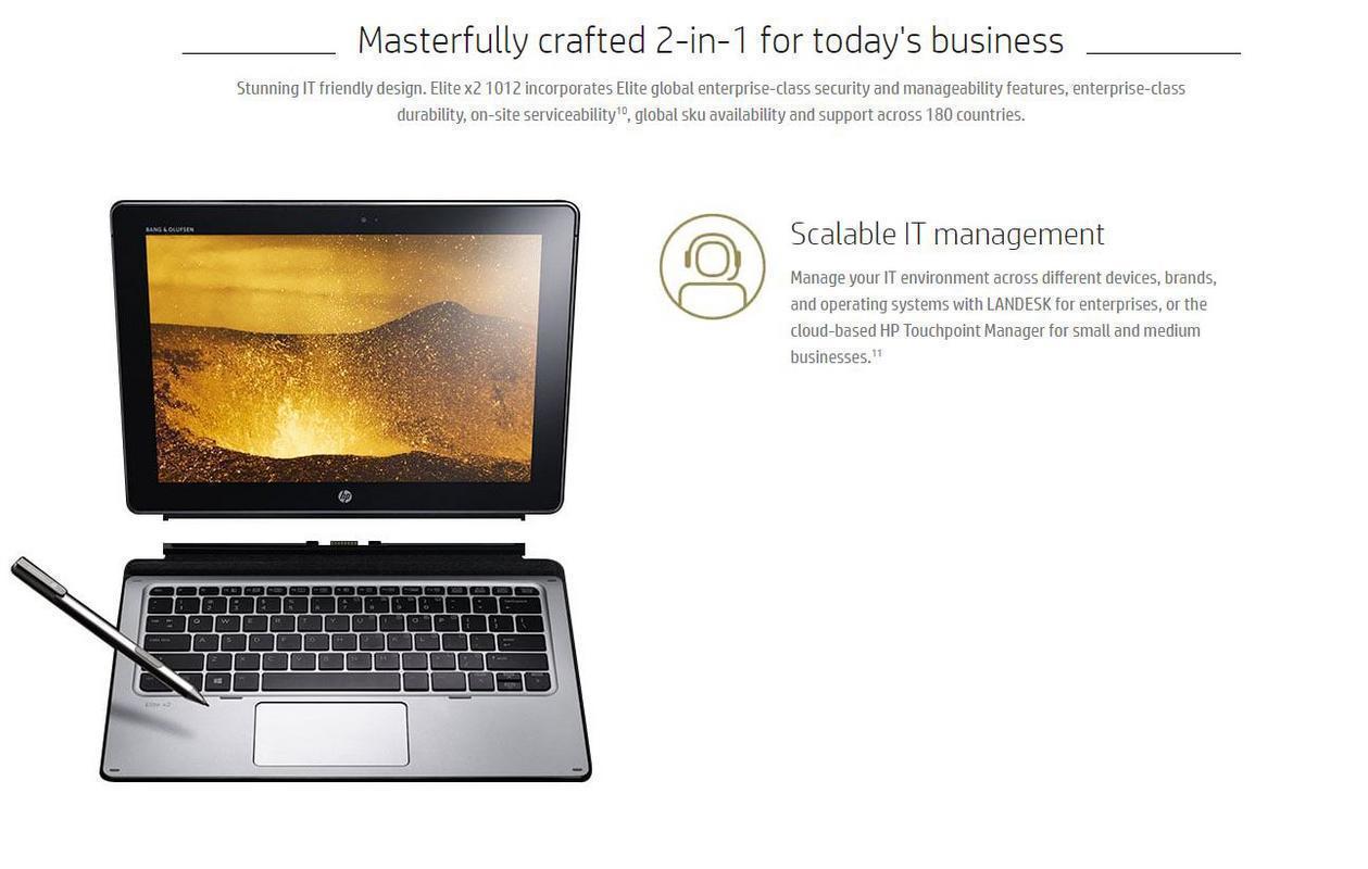 Elite X2 1012 G1 Tablet Pc 12 Uwva Touchscreen 6th Gen Intel Hp Energy Star Specifications