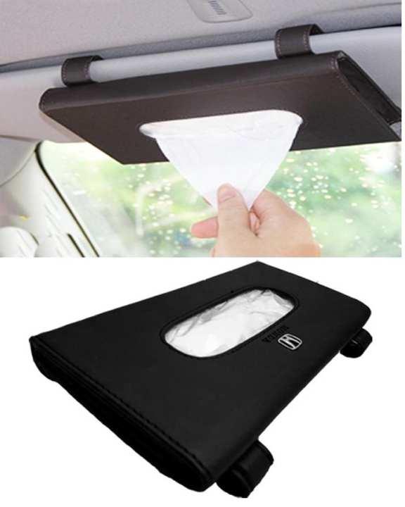 Honda Sun Shade Tissue Box Black