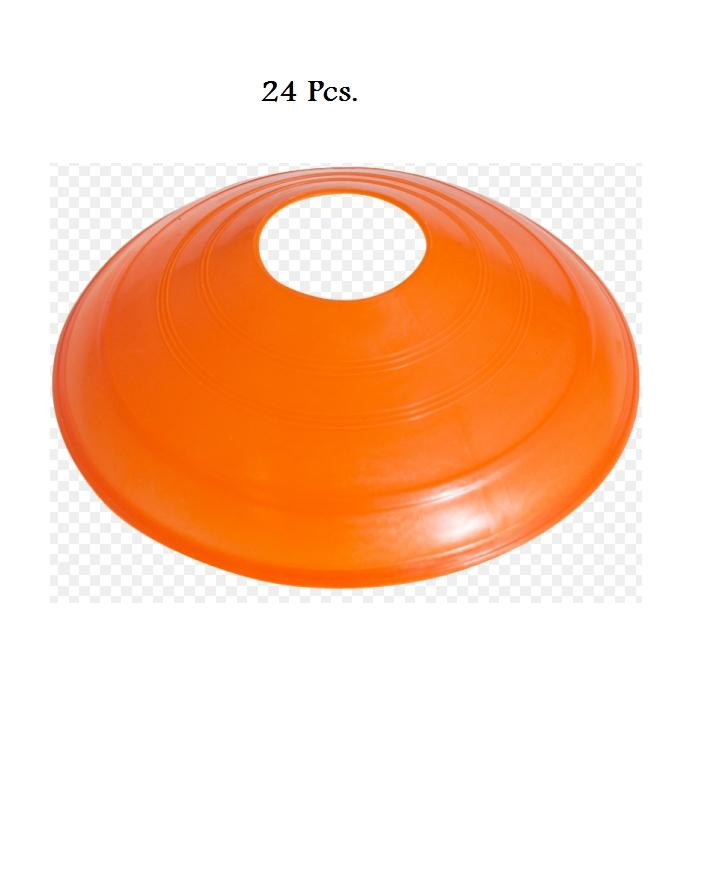 Football marking 24 Pack-Football Training Cones Hockey road safety goal keeper disk space marking