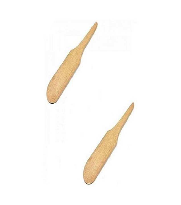 Pack of 2 - Wooden Waxing Applicators Sticks