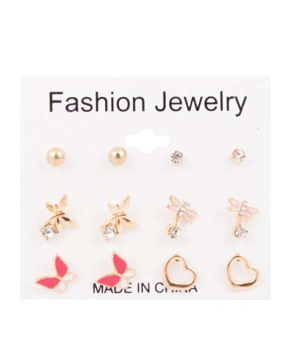 Pack of 6 Earrings Pairs for Women