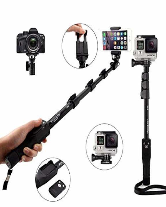 YT 1288 Selfie Monopod Heavy Selfie stick Smart Phones & Digital Camera