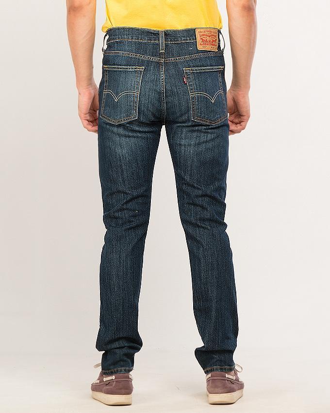 Multicolor Denim 510™ Skinny Fit White Bull Denim Wt Jeans For Men - Flash Sale Exclusive Online Price