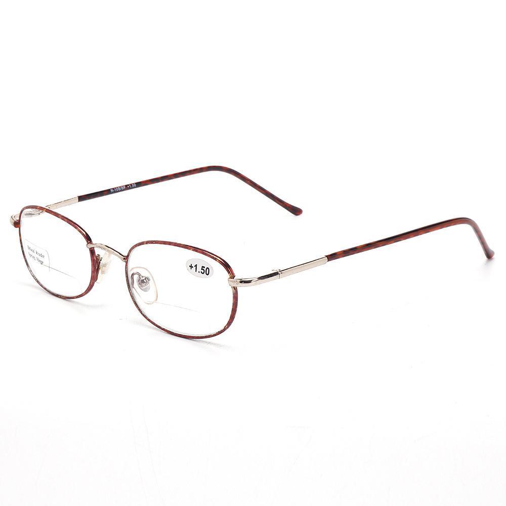 09caa73262 175 Degree Women Vintage Metal Frame Wear Resistance Exquisite Multi-degree  Reading Glasses
