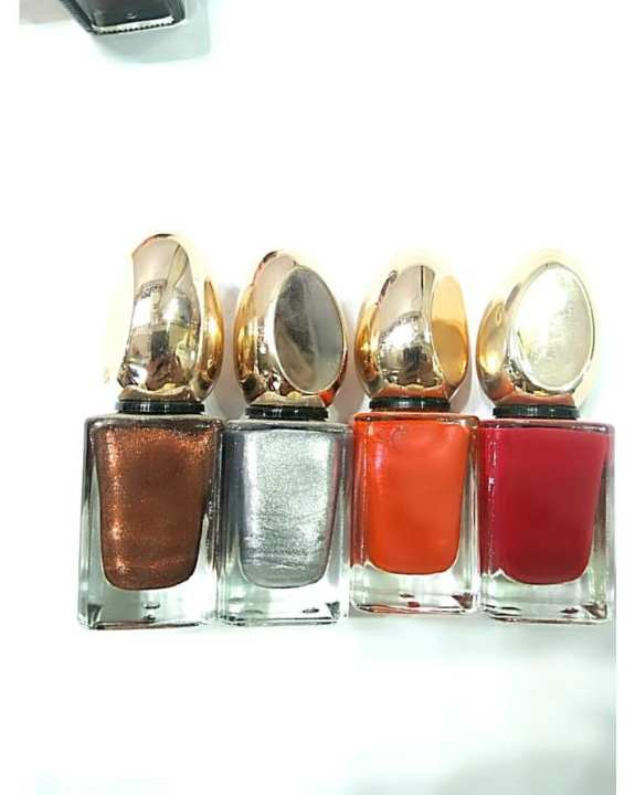 My Choice 4 In 1 Nail Paints- Multicoulor