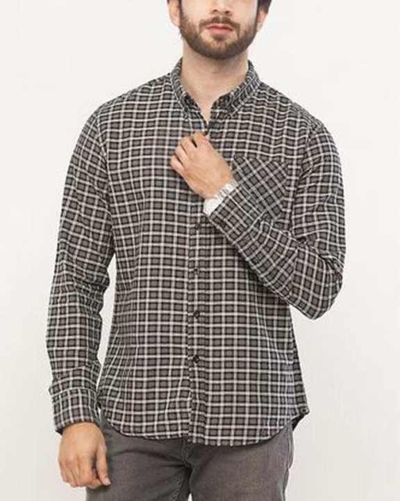 Cotton Sunset 1 Pocket Shirt for Men
