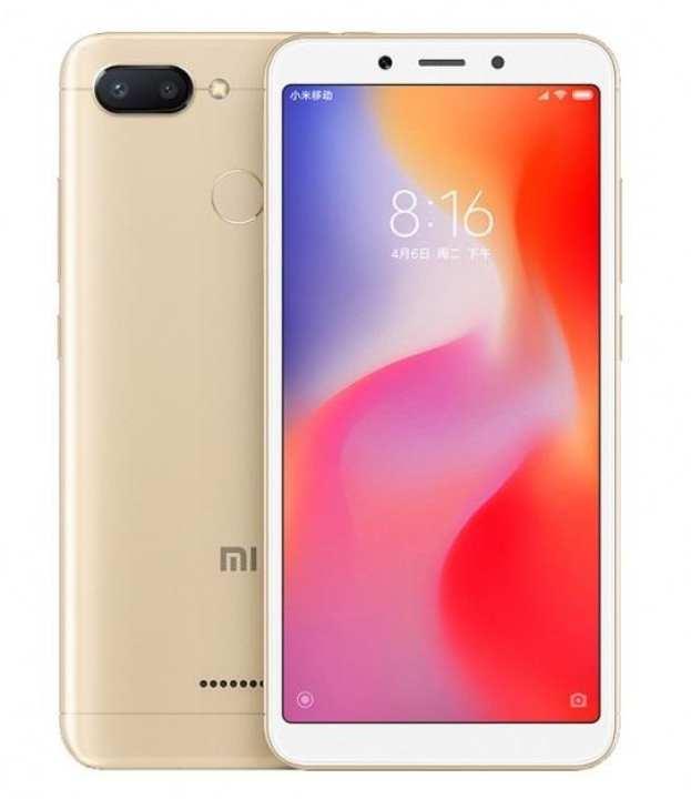 Mi Redmi 6 - 5.45 IPS Display - 3GB RAM - 64GB ROM - Dual SIM - Fingerprint Sensor