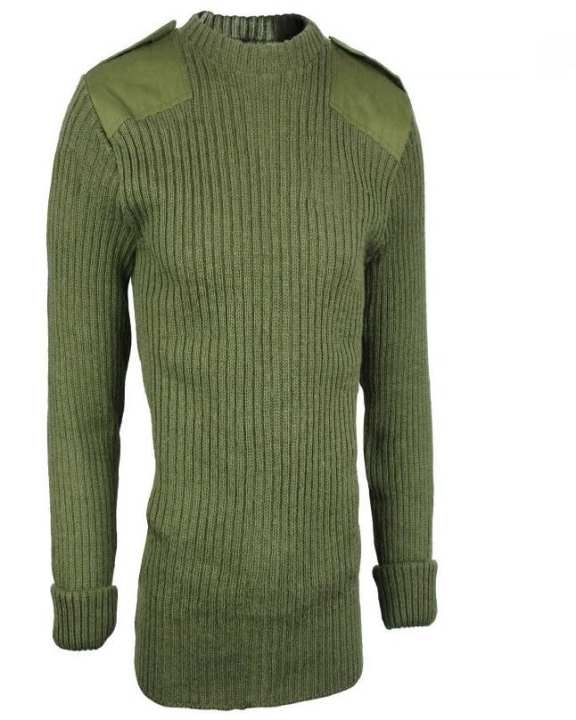 Military Olive Green Sweater