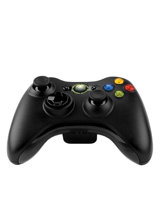 Wireless Joystick With PC Receiver For Xbox 360 - Black