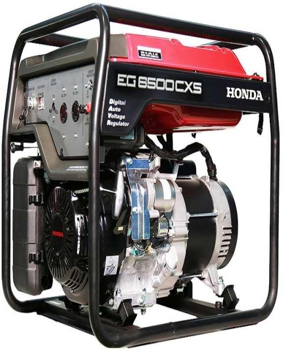 EG 6500 CXS - Generator - Black & Red