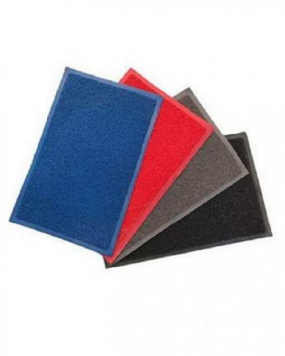 Pack of 4 - Rubber Mats - Multicolour