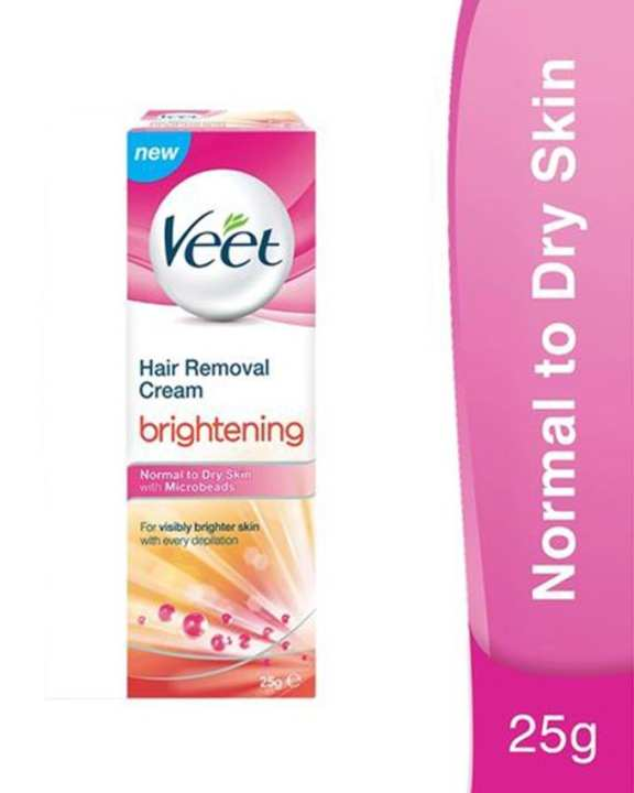 Veet Brightening Cream Normal To Dry - 25gm