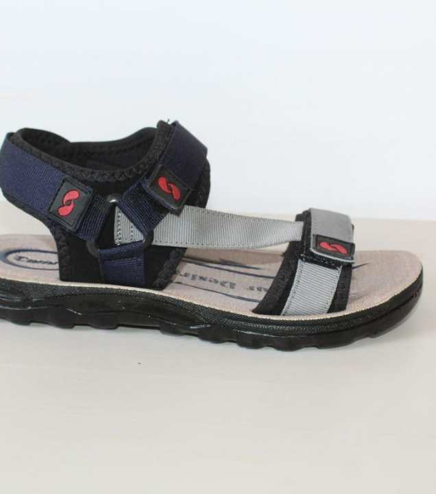 Black Sandal For Men