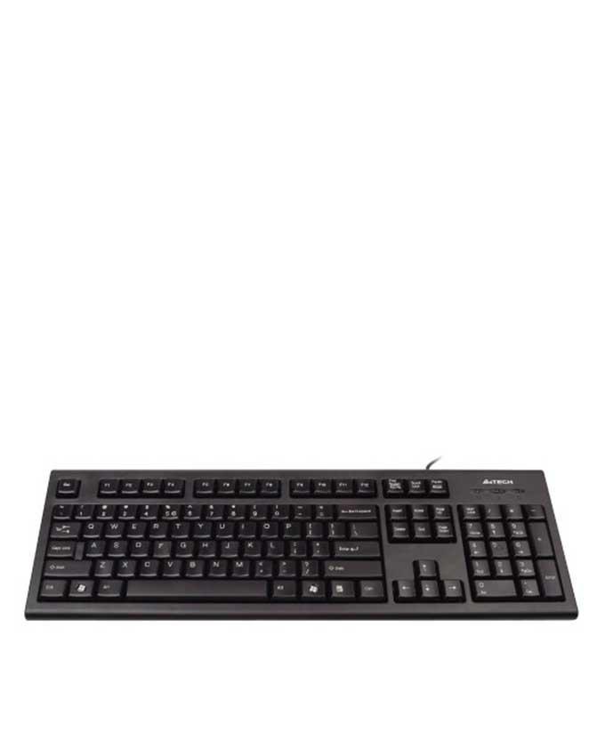 A4Tech - KR-85 Black - Comfort Key Keyboard