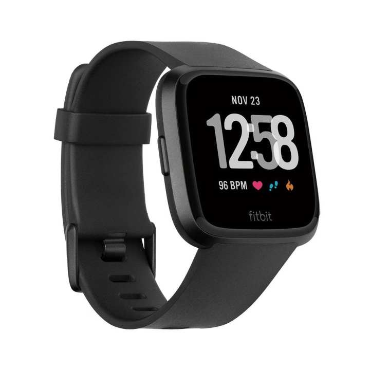 Fitbit Versa™ Smart Watch Water Proof - Black/Black Aluminium