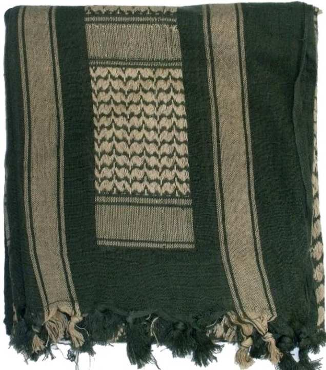 Tactical Cotton Scarf - Green