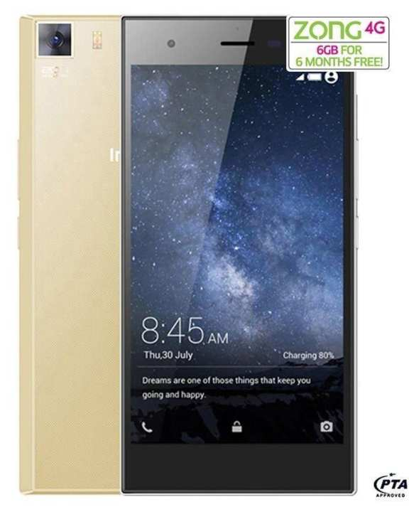 Zero 3 X552 - 16GB - Luxurious Gold - 4G LTE