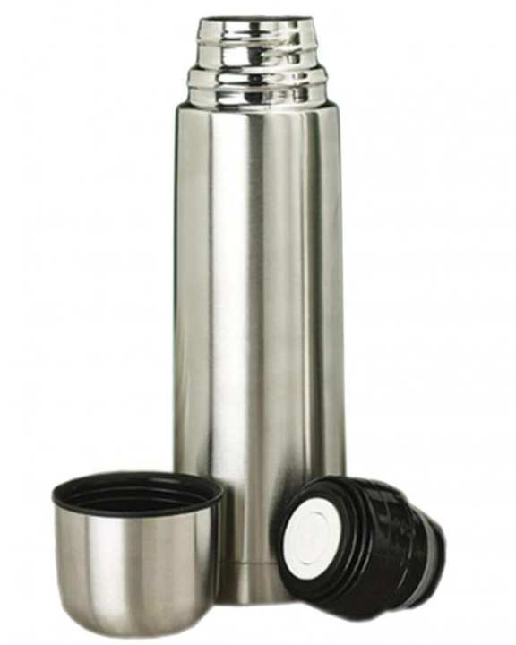 Stainless Steel Vacuum Flask - 0.5 Litre - Silver