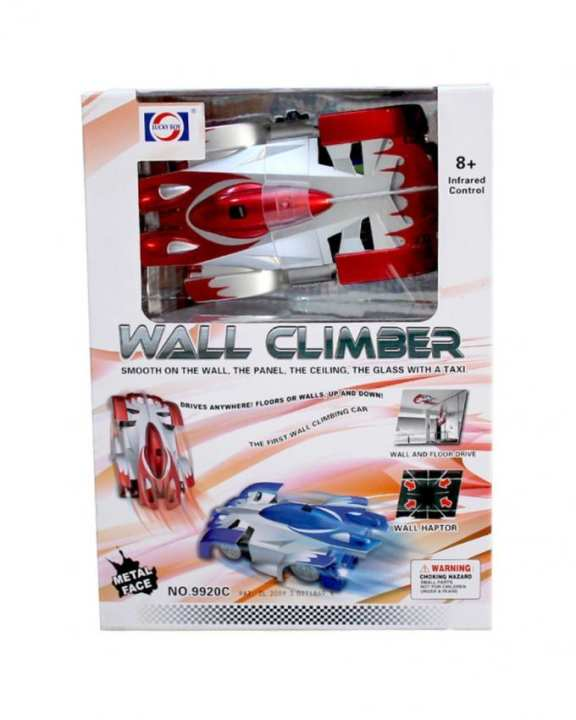 Wall Climber Car - Red