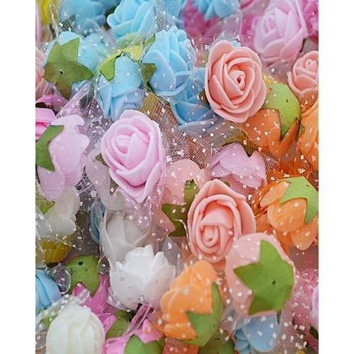 60 Pcs Artificial Rose Heads For Wedding Decoration