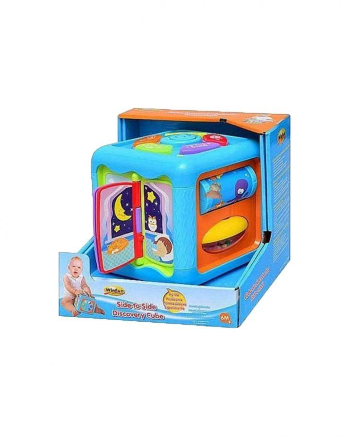 Winfun - Side To Side Discovery Cube - Multicolor