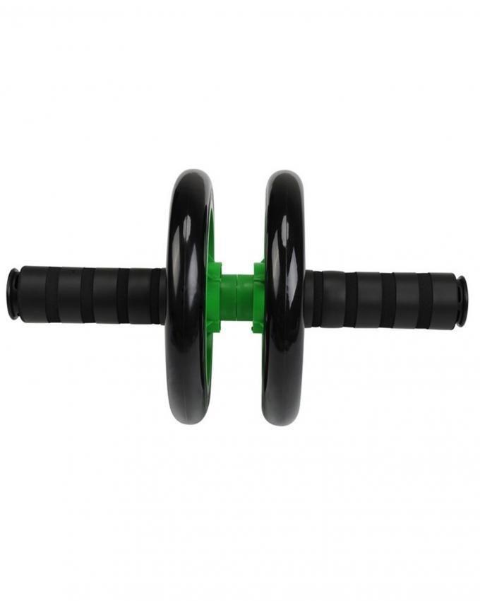 Two Wheeler Abdominal Roller - Green & Black
