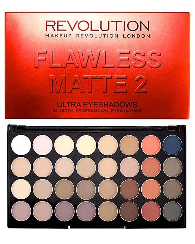32 Flawless Matte 2 Ultra Eyeshadow Palette