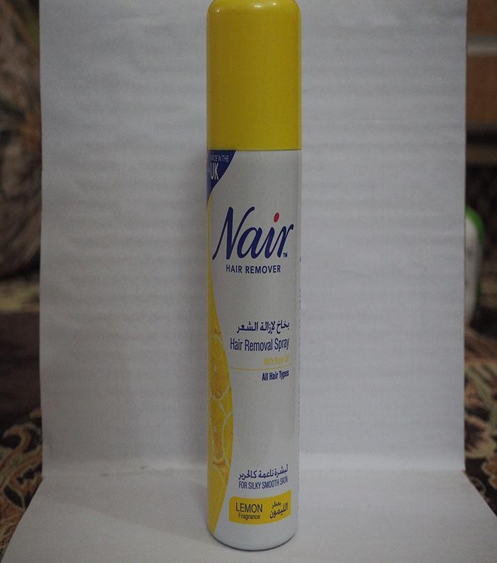Nair Hair Remover Spray Lemon Buy Online At Best Prices In