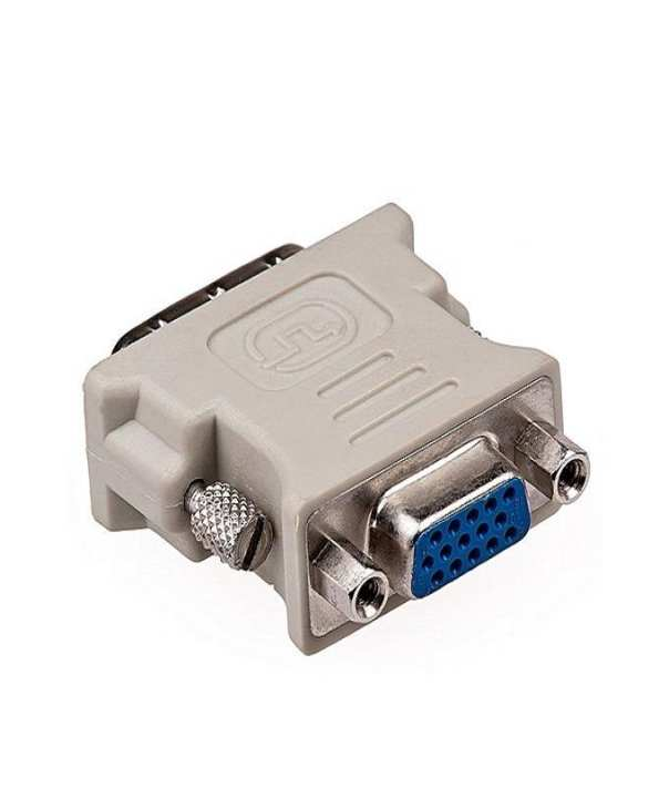 DVI Male 24+1 to VGA Female Connecter