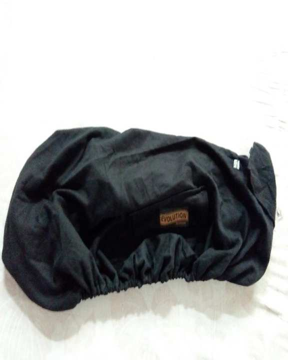 Full Cover- Motorcycle - 70cc -125cc - Good Quality Fabric - Seat Cover - Full Black