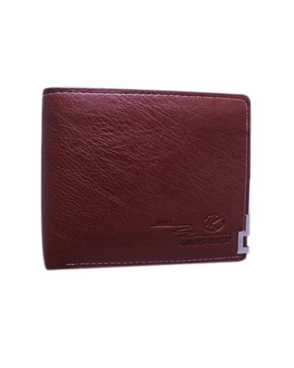 Brown Leather Wallet For Men - Code 02