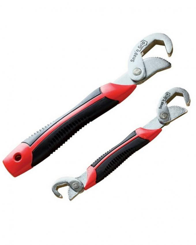 Pack of 2 - Snap'n Grip Wrench - Black & Red