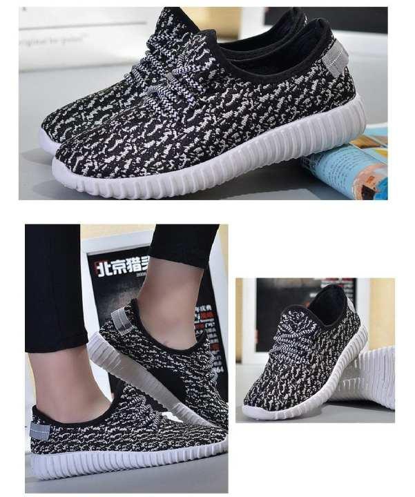The Shoe Club Black White Sport Sneaker For Men
