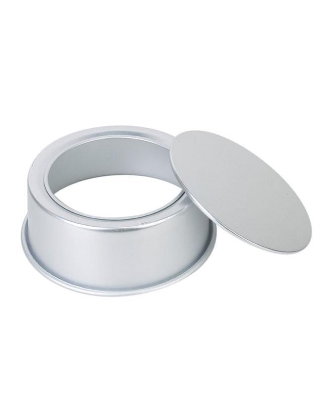 Aluminium 8 Inch Round Cake Pan Loose Bottom
