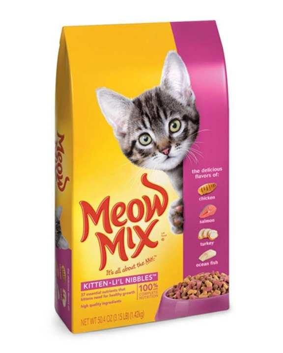 Kitten Lil Nibbles Cat Food - 1420gms