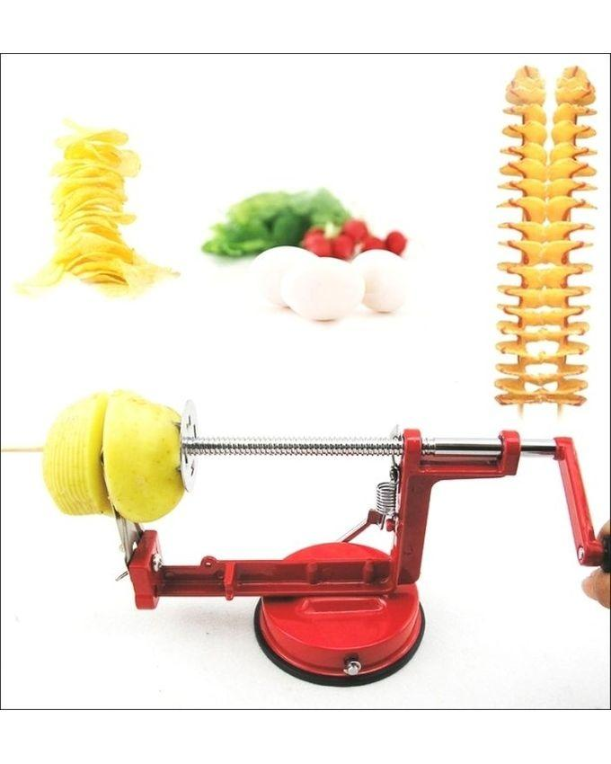 Spiral Potato Cutter - Red