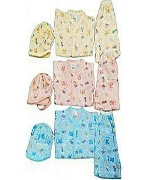 Chase Me New Born Baby Suit Clothes Uni Sex(Pack Of 3)