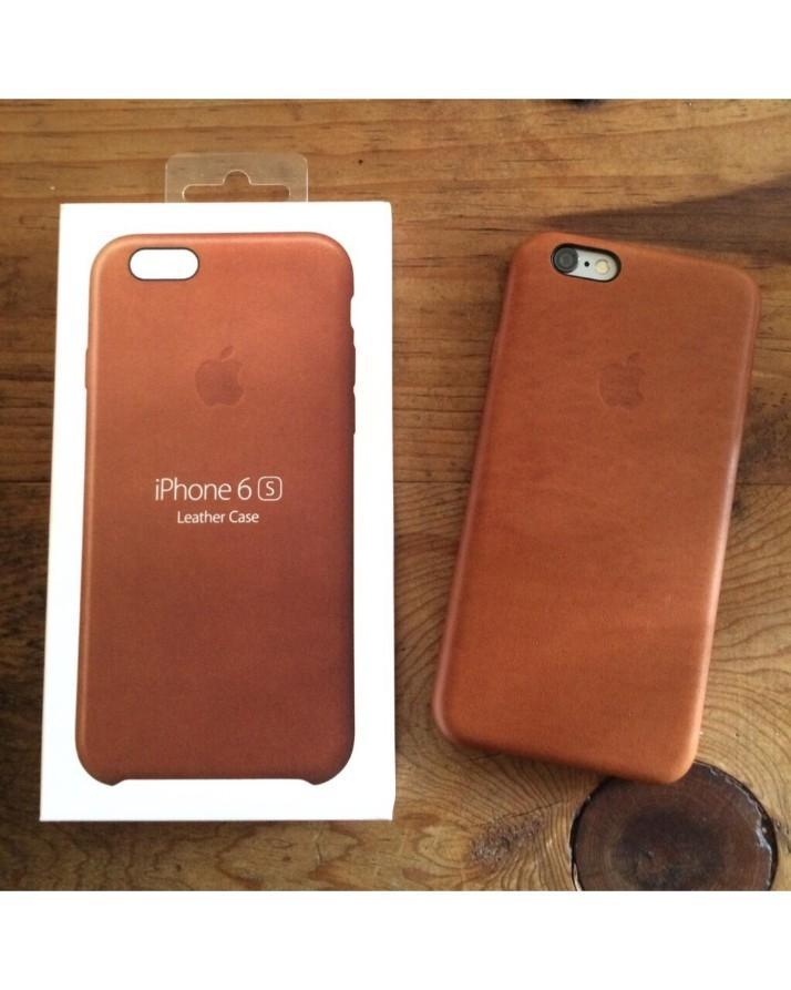 info for f8af9 58485 Apple Iphone 6 & 6s Leather Case Saddle Brown