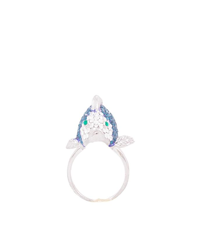 Fish Sapphire Ring